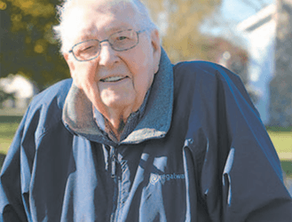 James D. Reigle Recognized For 70 Years In American Legion